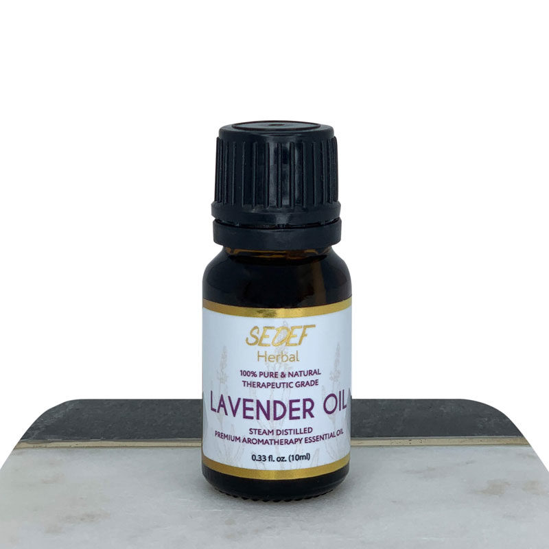 Lavender Oil, 100% Pure & Natural Lavandula Angustifolia Oil, Therapeutic-Grade Aromatherapy Essential Oil, 10ml (0.33oz)